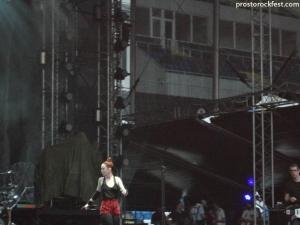 Garbage на фестивале ПРОСТО РОК 2012