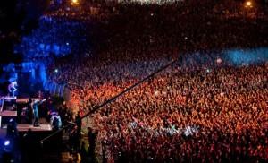Масштабный флешмоб на PROSTO ROCK 2012