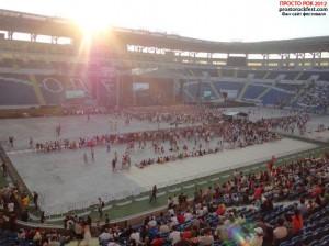 """Стадион """"Черноморец"""" во время выступления Бумбокс на PROSTO ROCK 2012"""