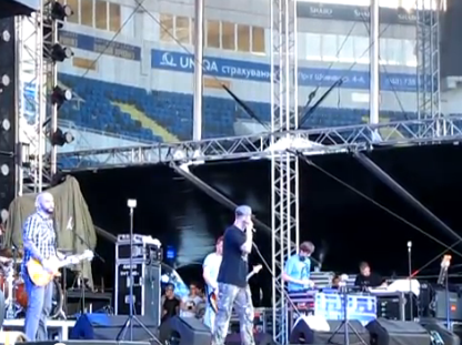 Видео Бумбокс на PROSTO ROCK 2012
