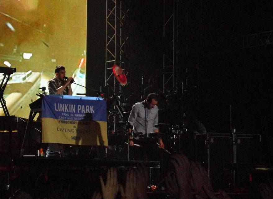 Видео Linkin Park на PROSTO ROCK 2012