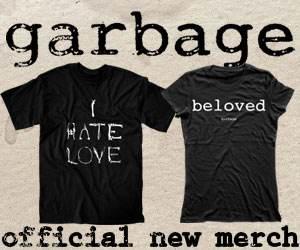 Магазин группы Garbage - официальные вещи с символикой группы