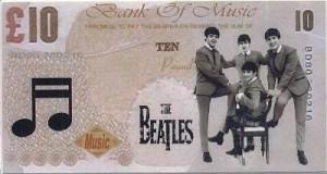 The Beatles и Мик Джаггер могут попасть на новую десятифунтовую банкноту