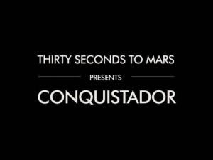 """Новая песня 30 Seconds To Mars """"Conquistador"""" слушать online"""