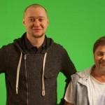 Творческая работа над новым клипом: Бумбокс и Александр Цекало