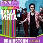 «BrainStorm» приедут летом на фестиваль «Дикая Мята»