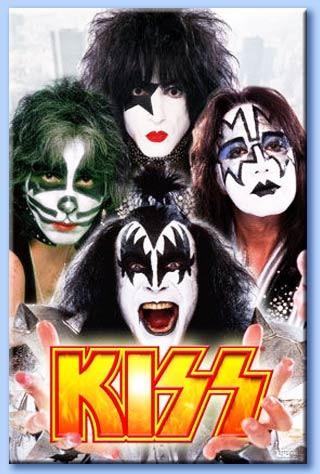 Kiss отмечают 40-летний юбилей