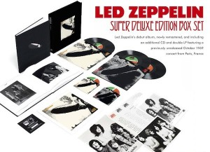 Led Zeppelin переиздадут первые три альбома