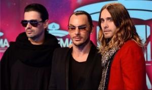 Вчера состоялся грандиозный концерт 30 Seconds to Mars